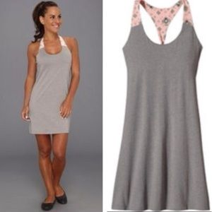 Patagonia | Kamala Tie Racerback Gray Dress